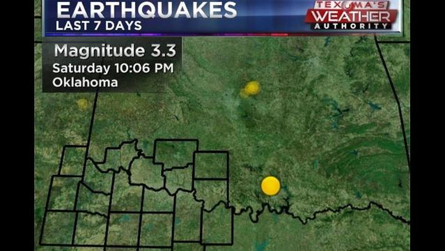 3.3 Quake Shakes OK's Arbuckle Mountains