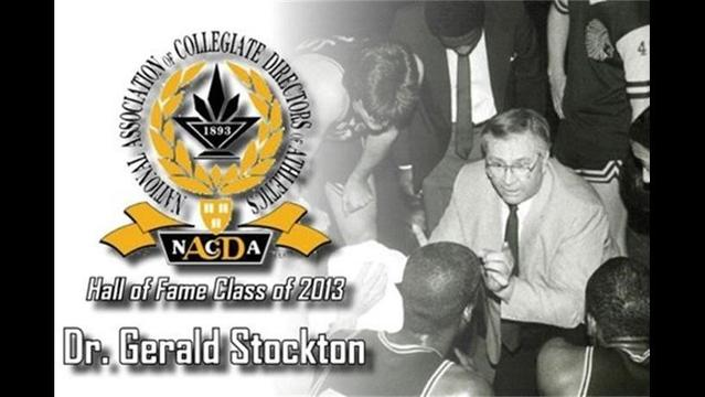 Stockton to be Enshrined in NACDA Hall of Fame