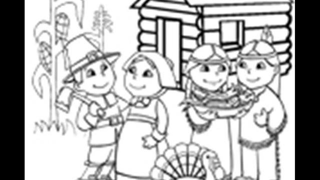Thankgiving Coloring And Activity Sheets