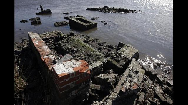 Louisiana Cemeteries Sinking, Washing Away Due to Coastal Erosion