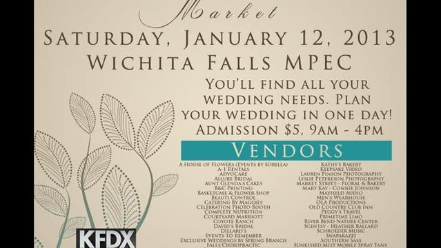 12th Annual KFDX Bridal Market is Saturday