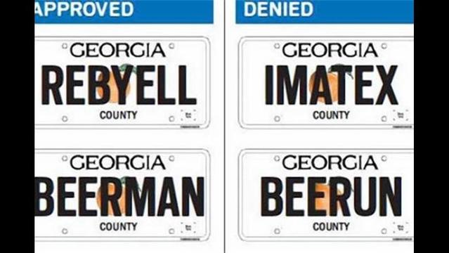 Man Sues Georgia after State Refuses to Approve 'GAYGUY' License Plate