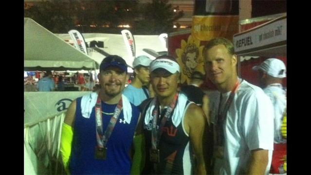 Sports Spotlight, Three Local Athletes Finish 140.6 mile Iron Man Triathlon