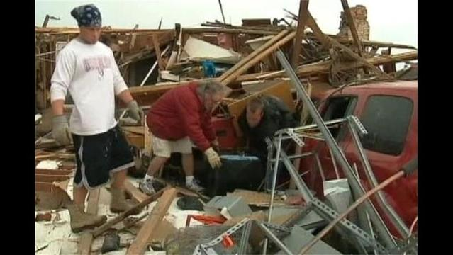 Official: Tornado Victims Need Money, Not Items