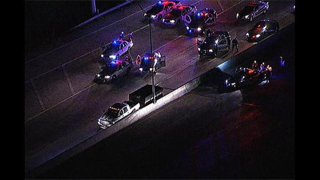 Multiple DFW Metroplex Police Depts. Chase Sex Assault Suspect on I-635