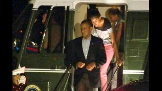 Obama Returns to US Facing Full Plate