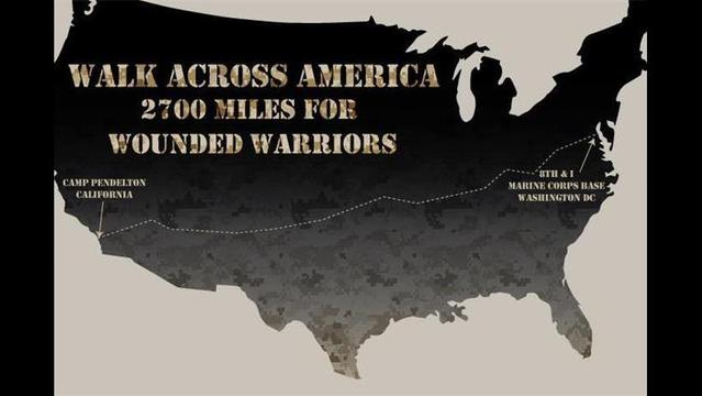 Former Marines on a Mission for Wounded Warriors