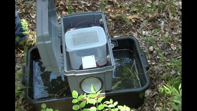Traps Help W.F. Mosquito Crews Find Carriers of West Nile