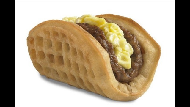 Taco Bell Presents the Waffle Taco