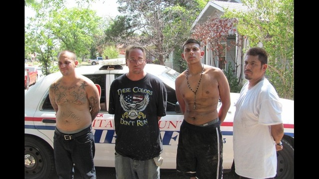Four Men Arrested During Drug Bust