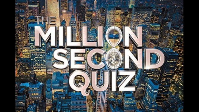 Million Second Quiz Takes Over
