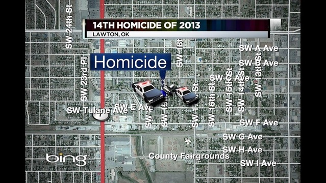 Man Shot in Lawton...City's 14th Homicide of 2013