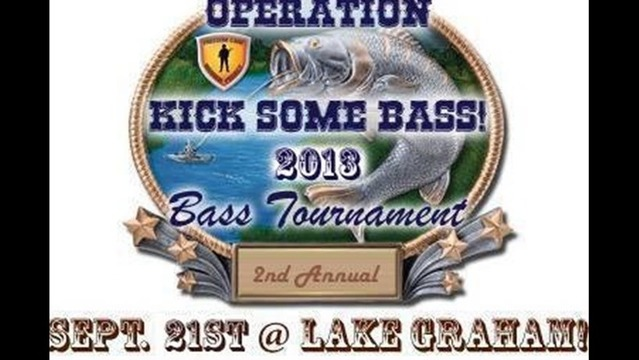 Kick Some Bass Tournament in Graham this Saturday
