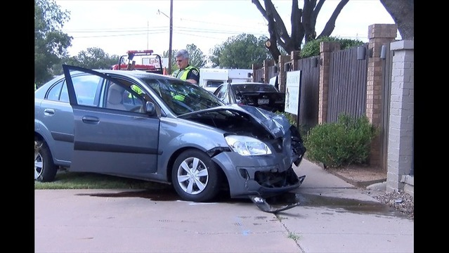 Accident on 10th Street Sends Two to Hospital