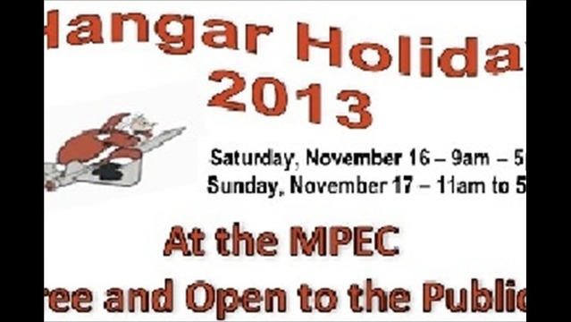 Holiday Gifts Will Fill MPEC for This Weekend's Hangar Holiday