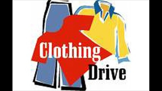 Clothing Drive for Children and Veterans Underway
