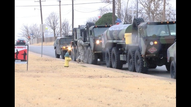 National Guard Crews Help Stranded Motorists in Texoma