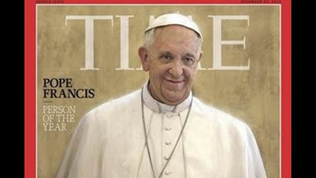 Pope named 2013 Person of the Year