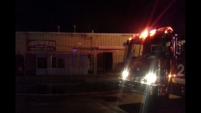 WFFD Fighting Structure Fire On Jacksboro Highway