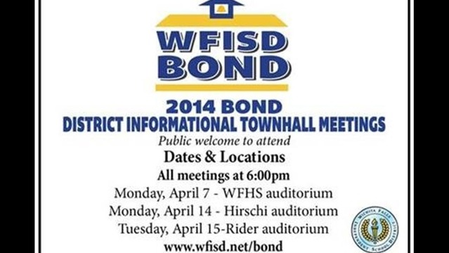 WFISD to Host 2014 Bond Informational Town Hall Meetings