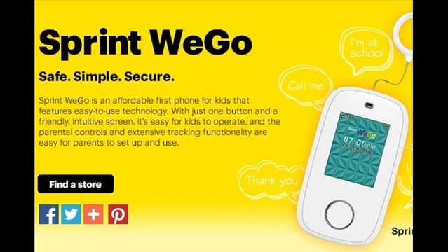 Sprint Adds Mobile Phone for Kids