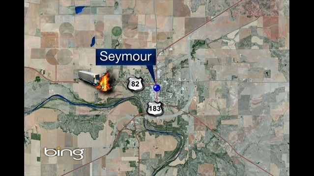 One Person Killed in Fiery Baylor County Head-on Collision