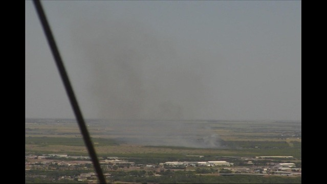FM 171 Fire Causes Some Voluntary Home Evacuations