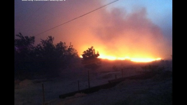 Fire Threatens Hundreds of Homes Outside Amarillo