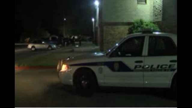 Two Driveby Shootings Outside Apartment Complex