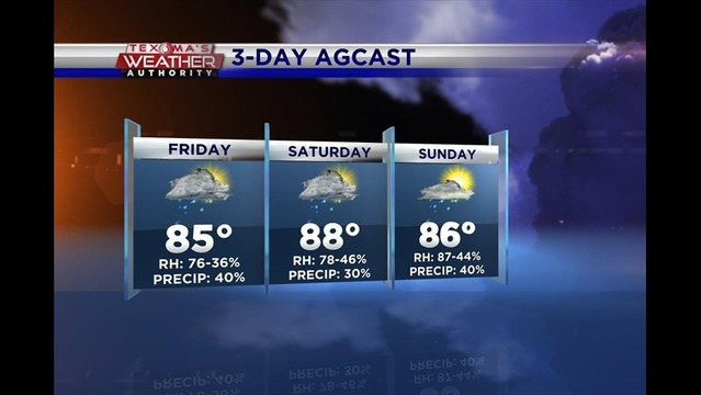 Friday Ag Weather: May 23, 2014