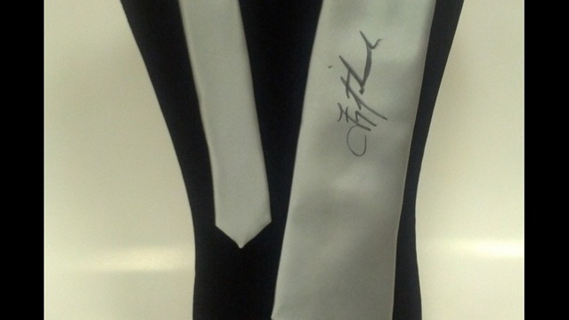 Bid on Ties Signed by Celebrities for a Good Cause, Including Troy Aikman