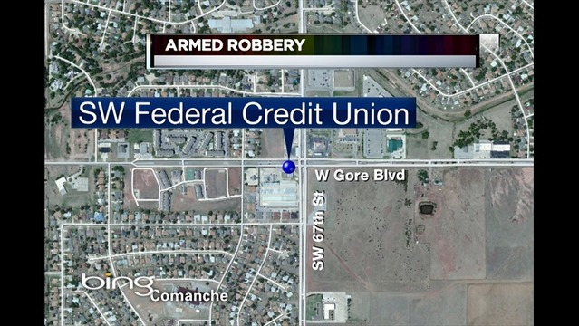 FBI is Still Looking for an Armed Lawton Robber