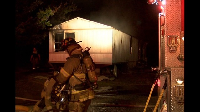 Fire in Empty Trailer Under Investigation