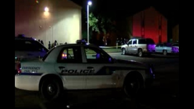 Police Officer Shoots Armed Man at Apartment Complex