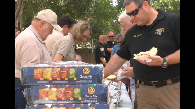 Agencies Work Together to Help WFPD Officer