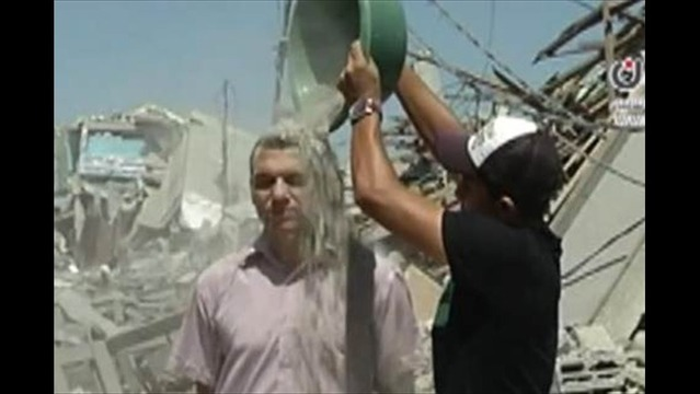 Gazans Launch 'Rubble Bucket Challenge'