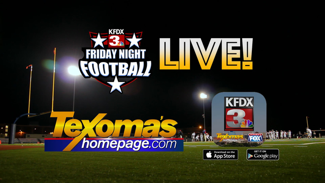 Tune in to the Number One Friday Night Football Program in Texoma!