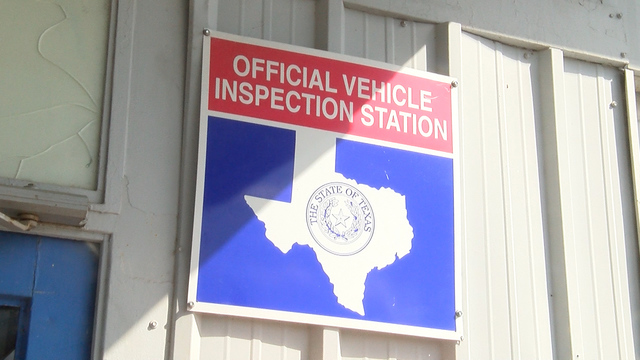 Texas car inspection requirements windshield