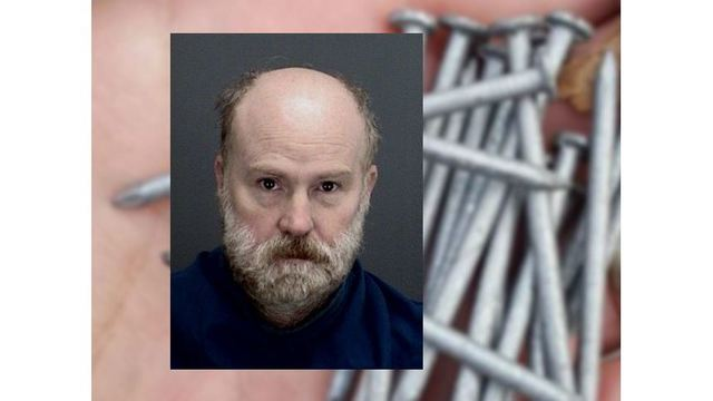 Man Accused of Throwing Roofing Nails in Business Parking Lots to Get Psychiatric Evaluation