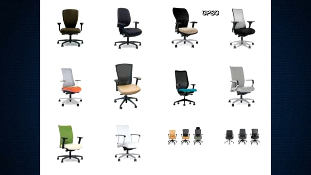 5 Brands Of Office Chairs Recalled