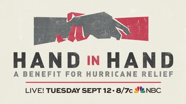 Hand in Hand: Stars unite for Hurricane Harvey and Irma relief
