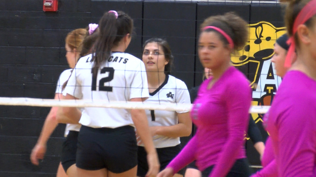 High School Volleyball: Electra at (21)Archer City - October 21, 2017