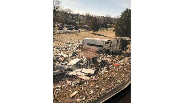 Train carrying GOP lawmakers to retreat hits trash truck, one dead