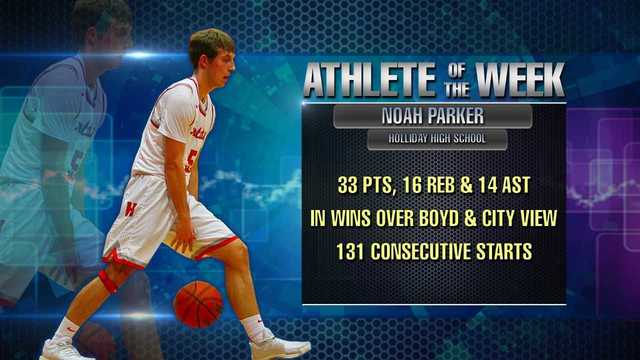 Athlete of the Week: Noah Parker - February 12, 2018