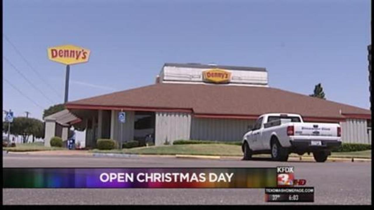 wf restaurants open christmas day - Fast Food Open Christmas