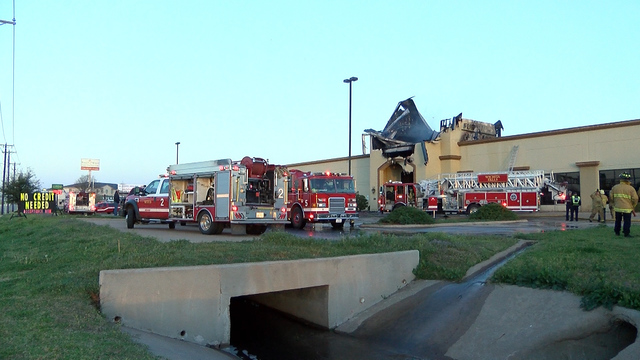 34 Firefighters Put Out Fire At Ashley Furniture Homestore