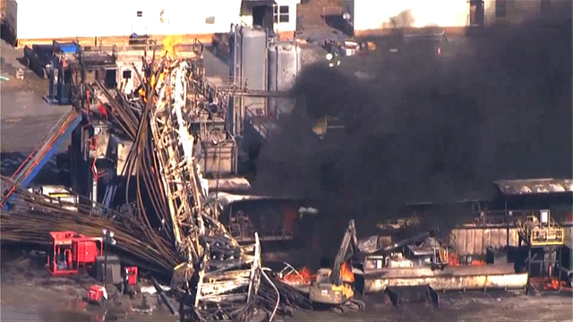 5 missing employees after Oklahoma rig explosion presumed dead, official says