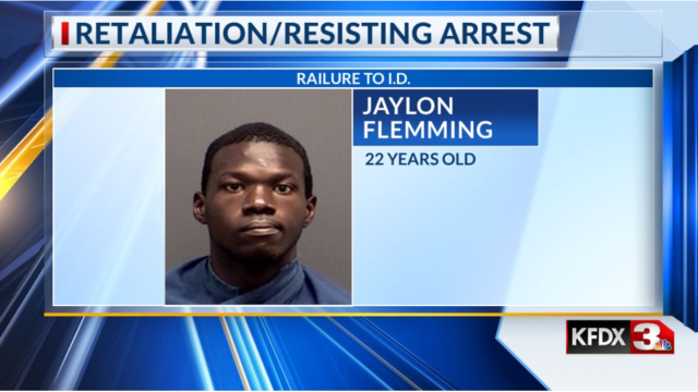 Man charged with retaliation, failure to identify as fugitive