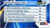 UIL Golf State Tournament 1A Leaderboard: Round 1 - May 20, 2019